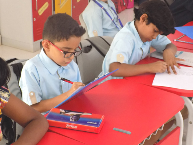 Inter house story telling Writing Competition (1)