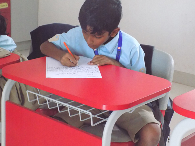 Inter house story telling Writing Competition (4)